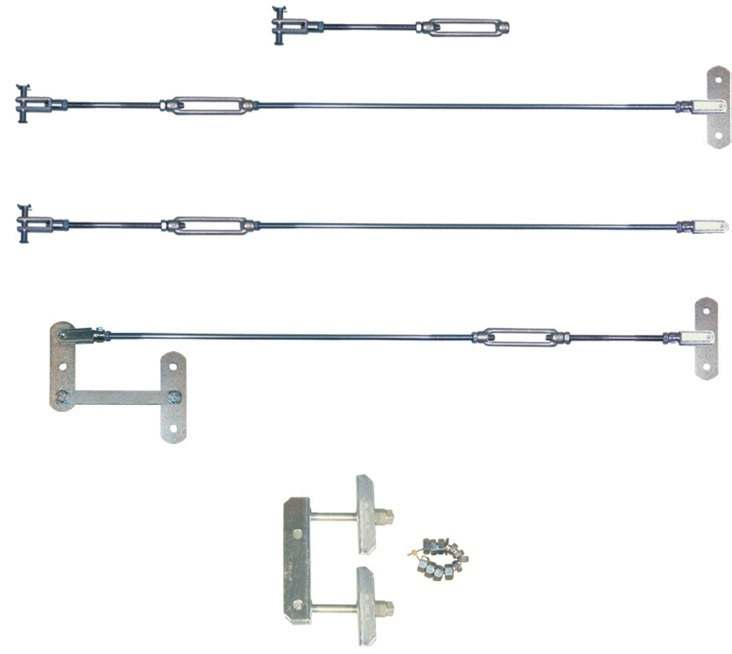 length 700mm linkage for tandem axle, threaded length complete linkage for tandem axle other