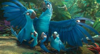 Top 10 1. Rio 2 Dschungelfieber > 17411 2013 Twentieth Century Fox Film Corporation. All Rights Reserved.