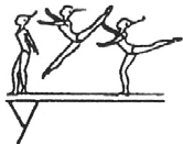 cross position position (hip <90 ) with ½ turn (180 ) with 1/1 turn (360 ) Bücksprung