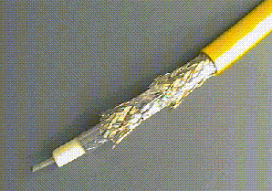 Xerox Ethernet yellow cable