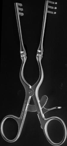 PERNECZKY TITANIUM BRAIN RETRACTOR
