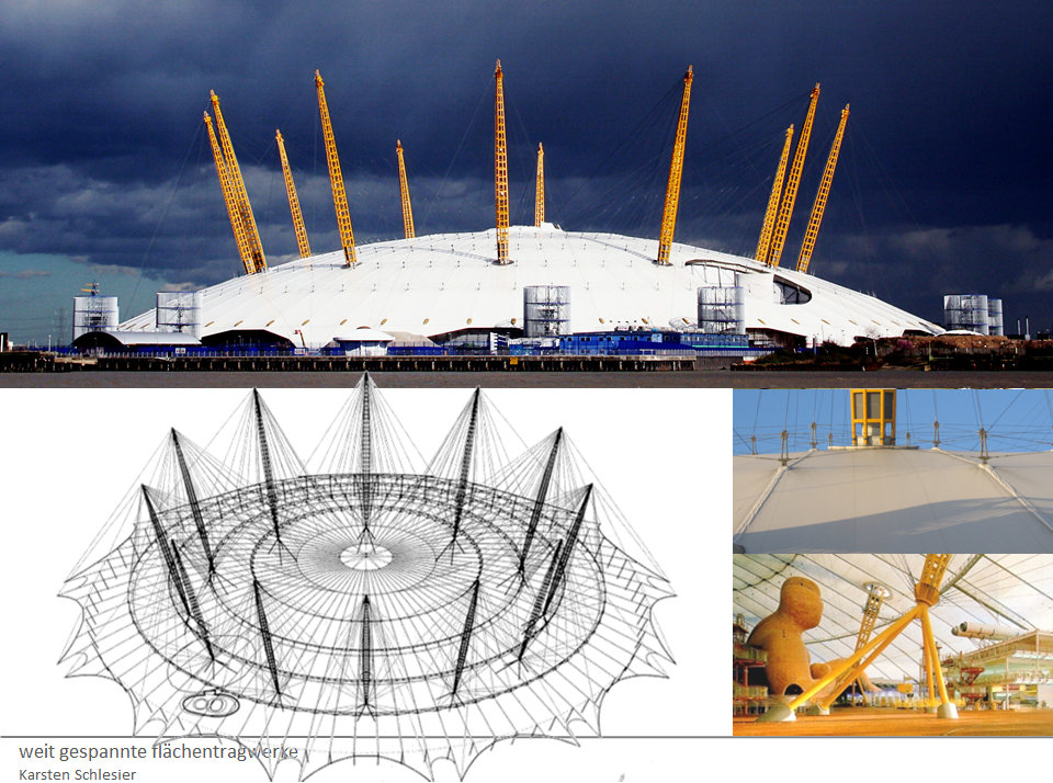 Millenium Dome London Richard Rogers.