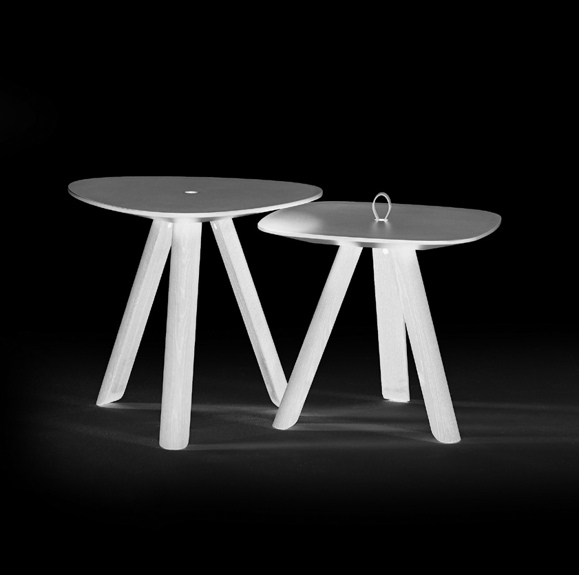 coffee table Tablets designer Jonas Trampedach eng ned de Tablets is a collection of friendly shaped side tables which can create a diverse landscape.