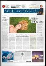 Augmented Reality DIE WELT (Sa), WELT am