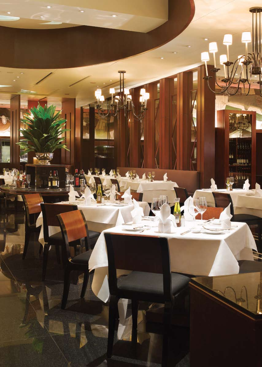 fine dining at the paris grill Famous for its European