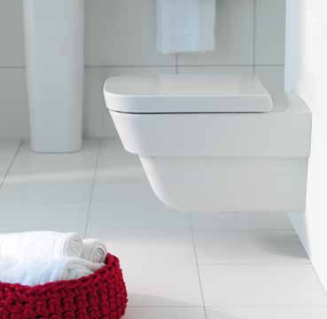 Beautifully economical WC and bidet come in three style variations: traditional and established, in an updated design and with a completely new look.