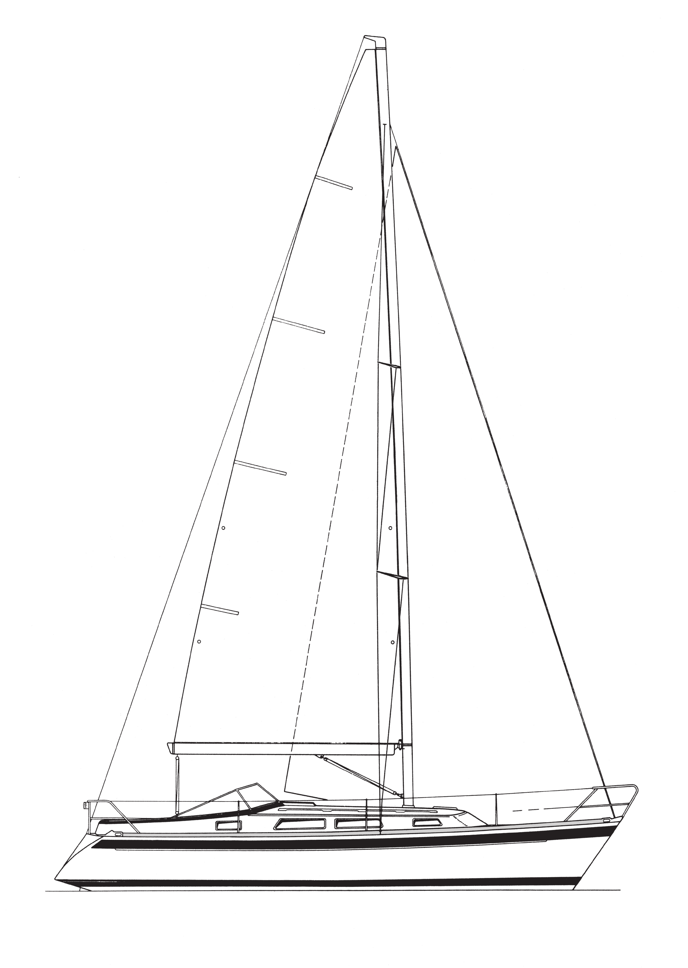 HR 31Mk II DESIGN: GERMÁN FRERS STANDARD SPECIFICATION TECHNISCHE STANDARDBESCHREIBUNG TEKNISK STANDARDBESKRIVNING Main datas: Designer: Germán Frers Hull length 9.62 m 31 7 Max sailing waterline 8.