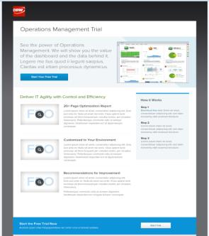 Showcase the vsphere Optimization Assessment and Collect