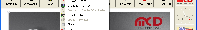 Tool Monitor The Tool Monitor fades in an additional window for every