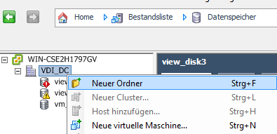 VMware View Installation 2. Hibernation has to be disabled to safe disk space. It can be disabled by typing powercfg.exe -h off into a command window running as an administrator.