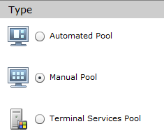 VMware View Installation Abb. 66: New sign in VMware View Administrator 5.10 Create a Desktop Pool It is possible to create different desktop pools with the Windows 7 desktops from the vcenter.