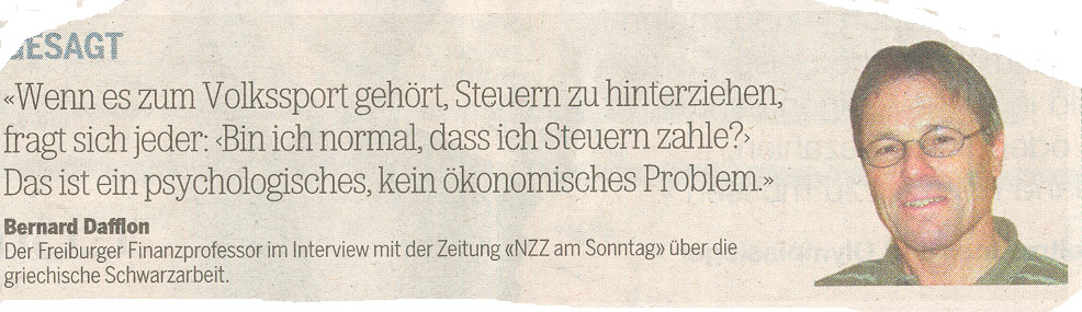 2010 Tages Anzeiger, 15.6.