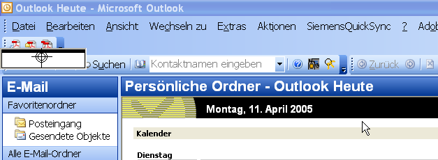 Signieren mit Outlook