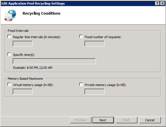 Middleware: Tips & Tricks Timing & Tuning ᵒ IIS AppPools Recycling