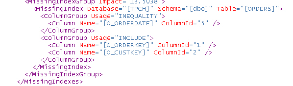 Index-Tuning Query 10: Hinweise des Optimierers: CREATE NONCLUSTERED INDEX IX_LINEITEM_L_RETURNFLAG ON dbo.