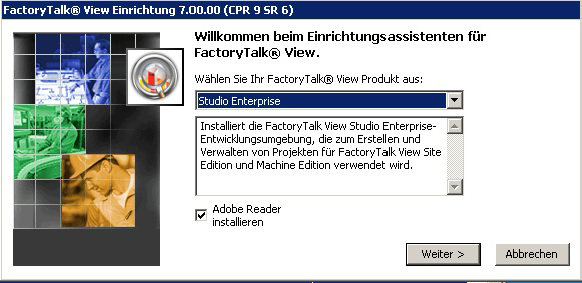 INSTALLATIONSHANDBUCH FR FACTORYTALK VIEW Zwei andere Anwendungen Studio for Machine Edition und Machine Edition Station for