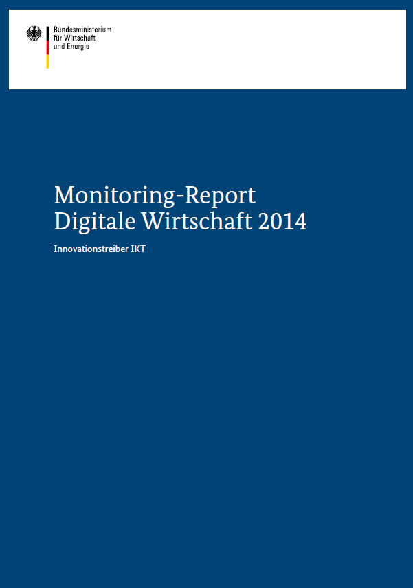 Monitoring-Report Digitale Wirtschaft Download: http://www.tns-infratest.com/bmwi Pressekontakt: Dr.