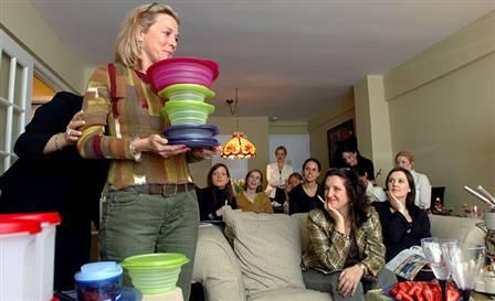 Was hat eine Tupperware-Party
