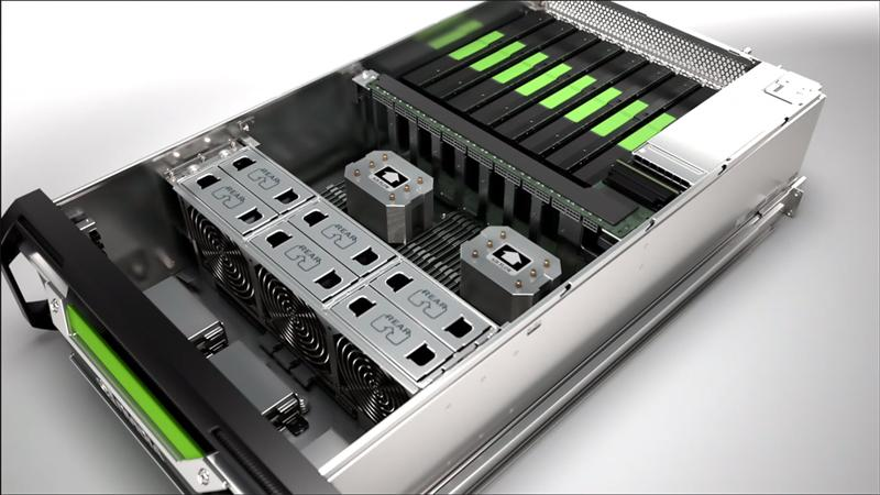 3.2 NVIDIA Grid Visual Computing Appliance Aufbau 2 x 8-Core Xeon CPU with Hyperthreading 384 GB RAM ca. 2000 W PSU http://www.pto.