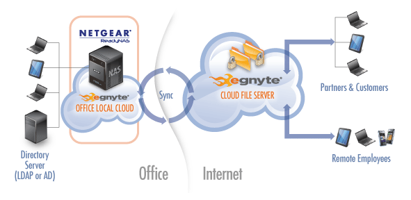 Cloud Fileserver ReadyNAS & egnyte