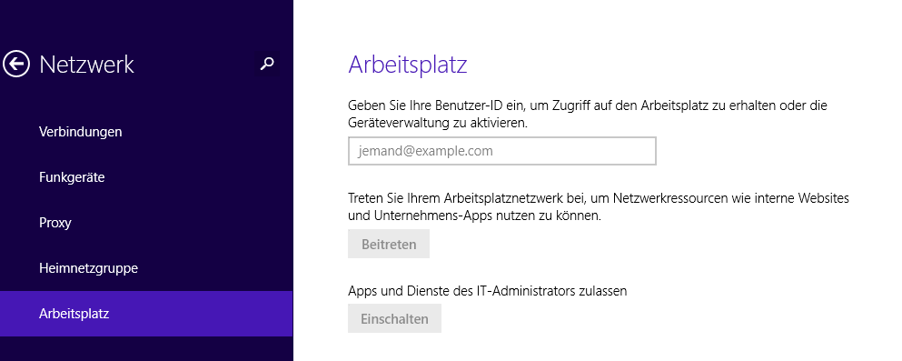 Workplace Join Durch eingabe der Logon Informationen kommuniziert das Device über den Web Application Proxy