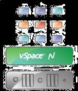 10 vspace Server 100 desktops, 1 OS, lowest cost.