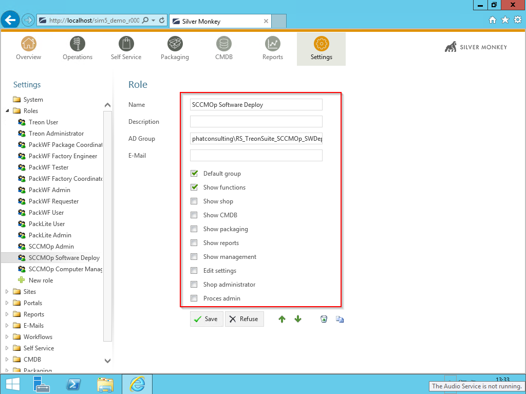 Demo Active Directory Single