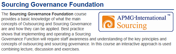 12 Kompetenzen und Training Knowledge, Skills & Experience for Best Practices in : IT Governance ITIL, COBIT, TOGAF, Cloud Computing & Sourcing Governance