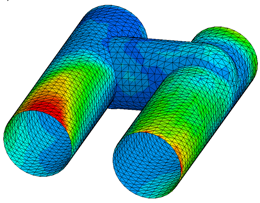 boundary conditions (LS-Dyna Model Setup) Definition der Kopplung (CFD - thermisch) in LS-Dyna: *ICFD_CONTROL_FSI $: owc bt dt 1 *ICFD_BOUNDARY_FSI $: pid 43 *ICFD_BOUNDARY_CONJ_HEAT $: pid 43 PID