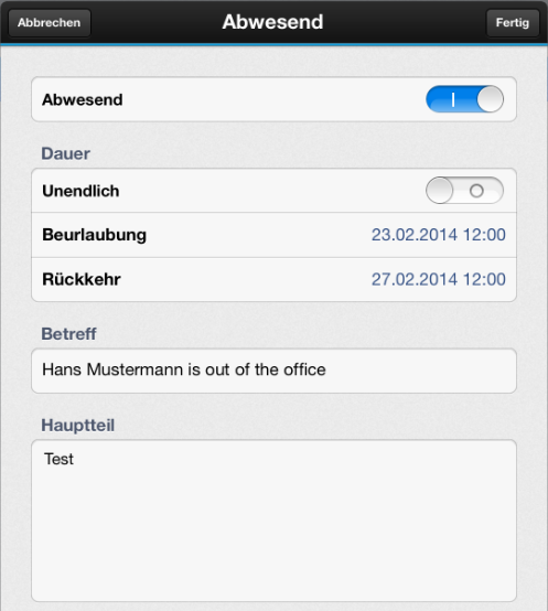 Traveler heute - ios ios 7 Support ab 1.