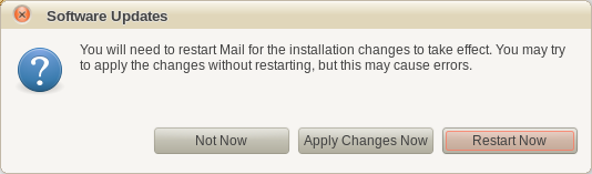 > Install the Mail Protection feature.