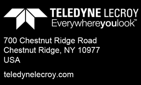 2013 Teledyne LeCroy, Inc. All rights reserved. ProductShortName and Teledyne LeCroy are trademarks of Teledyne LeCroy, Inc.