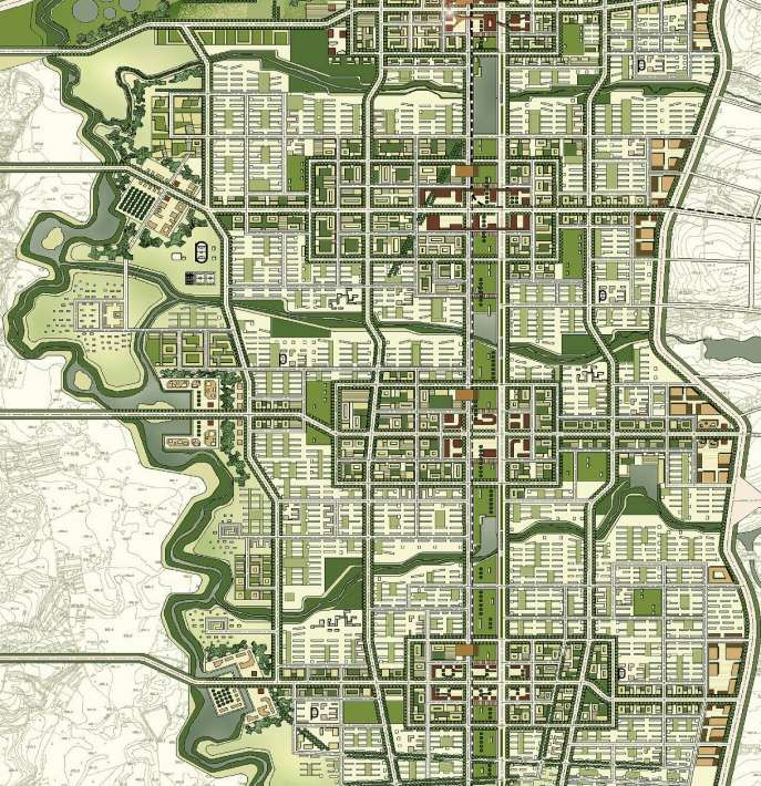 Nachhaltige Stadtplanung in der Praxis Jingyue Ecological City, Changchun, China >
