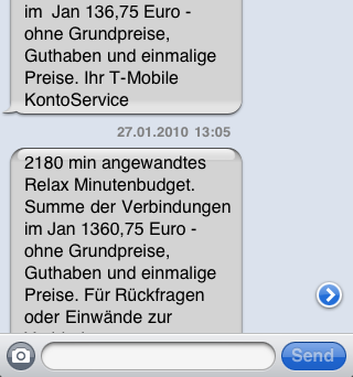 SMS-ID-Spoofing SMS-Phishing mittels SMS-Spoofing Beispiel