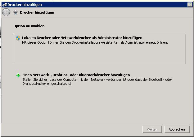 Konfiguration OfficeMaster 3.8.
