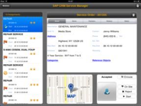 SAP mobile apps for service and sales SAP Rounds Manager SAP Mobile On-Site Billing for Utilities by PROLOGA SAP Cloud for Sales SAP CRM Service Manager Route Inspections Meter Routes Corporate Sales