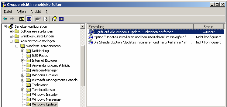 6.4.2.7. Connect2WSUS http://www.gruppenrichtlinien.de/index.html?/tools/liste_unsortiert.