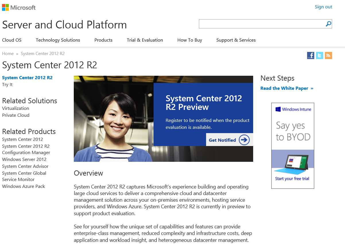 Center 2012 R2 http://www.microsoft.