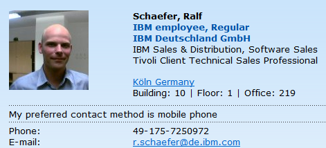 IBM Mobile Platform Mobile Device