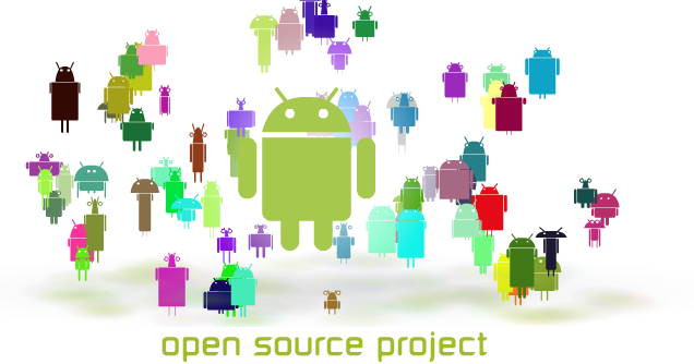 2 Grundlagen 25 2.3 Android Abbildung 2.10: Android - Open Source Project (vgl.