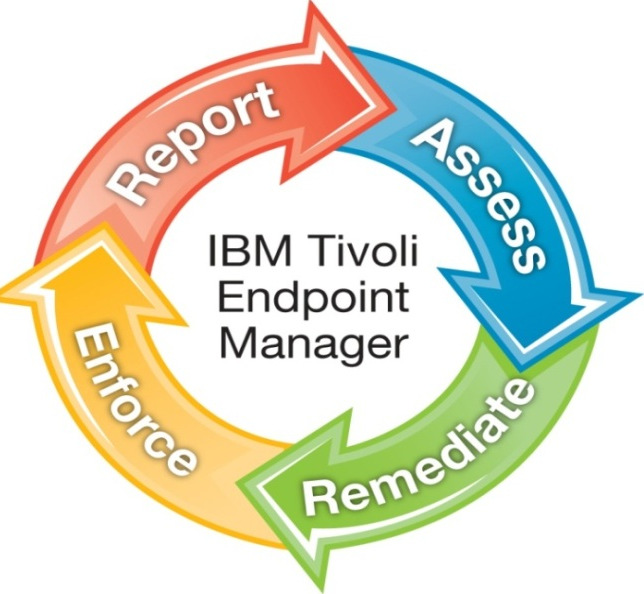 Tivoli Endpoint Manager: Alle Endpoints im sicheren Überblick Patch Management Security Configuration Management Vulnerability Management Asset