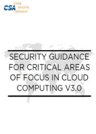 CSA IAM Security Guidance