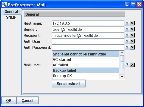 IC-MoRe: Snapshot Control Mail an mluttermoeller@mysoftit.