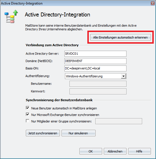 Active Directory-Integration 91 4.