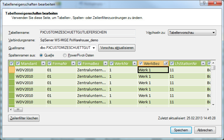 Endanwender Reporting EXCEL Power Pivot Add