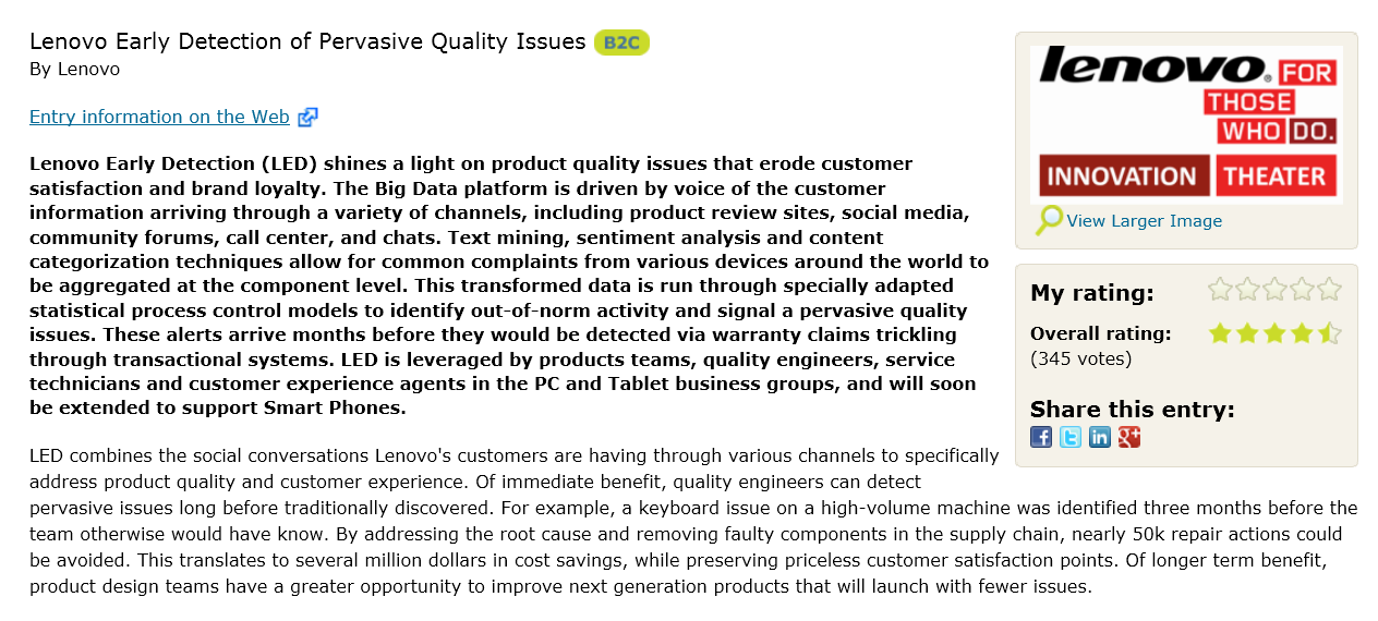 SAS QUALITY SUITE EIN EVOLUTIONÄRER ANSATZ Improve Perceived Quality, Identify Emerging Product Issues Integrate
