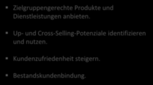 Up- und Cross-Selling-Potenziale