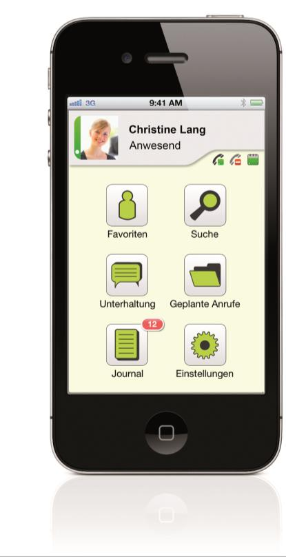ProCall Mobile App(s) für iphone & Android Präsenz-Management