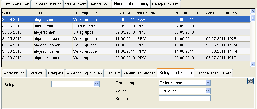 E-Honorarbeleg - APR-570/9.8 E-Honorarbeleg - APR-570/9.