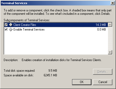 ANHANG B. WINDOWS 2000 ADVANCED SERVER Abbildung B.
